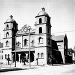 historic photo of St. Francis church