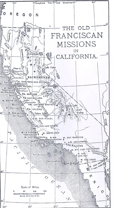 The Old Franciscan Missions in California